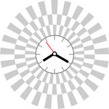 Creative clock face design. Royalty Free Stock Photo