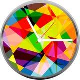 Creative clock face design. Royalty Free Stock Photography