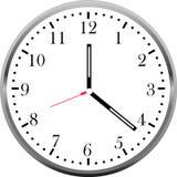 Creative clock face design. Creative clock face colorful design Stock Images