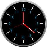 Creative clock face design. Creative clock face colorful design Royalty Free Stock Image