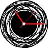 Creative clock face design. Creative clock face idea design Royalty Free Stock Photo