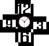 Creative clock face design. Creative clock face number design Royalty Free Stock Photo