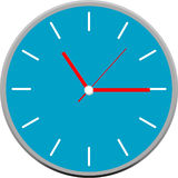 Creative clock face design. Stock Photography