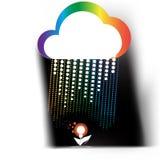 Creative cloud Stock Photo