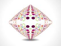 Creative color dotes design Royalty Free Stock Photos