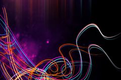 Creative digital wave background. Creative colorful digital wave background. 3D Rendering Stock Photos