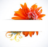 Creative Colorful Flower background Royalty Free Stock Photo