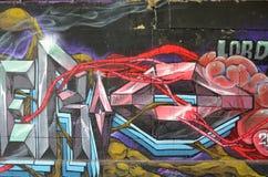 Creative colorful graffiti Royalty Free Stock Photos
