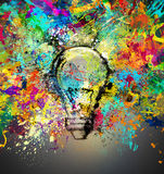 Creative and colorful idea Royalty Free Stock Photo