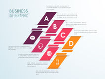 Creative colorful infographic elements. Stock Photo
