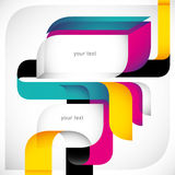 Creative colorful layout. Royalty Free Stock Photos