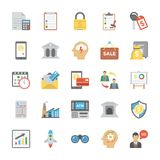 Startup and New Business Flat Icons Set. The creative and colorful Line icons set of seo and web optimization is one of its kind. Each icon in the set is very Stock Photography