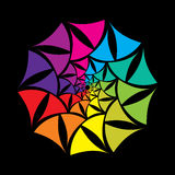 Creative colorful shape design Royalty Free Stock Image