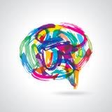 Creative colorful speech bubbles Stock Image