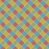 Creative colorful square  design pattern Stock Photo