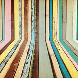 Creative colorful wood background Royalty Free Stock Photography
