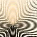 Creative concentric circles background Stock Images