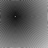Creative concentric circles background Stock Photography