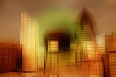 Creative concept futuristic business image Stock Images