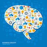 Creative Concept of the Human Brain Royalty Free Stock Images
