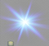 Creative concept Vector set of glow light effect stars bursts with sparkles isolated vector illustration