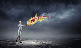 Creative concept Royalty Free Stock Photography