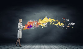 Creative concept Stock Photography