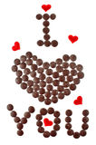 Creative conception for valentine\'s day Stock Images