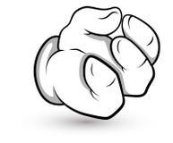 Cartoon Hand -  Vector Illustration Stock Photography