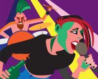 Punk rock. stock image