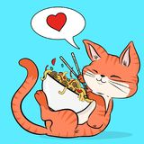 Take a yummy break. vector illustration