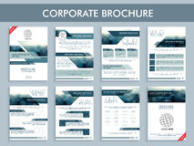Creative corporate brochure set for Business. Royalty Free Stock Photo