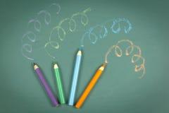 Creative crayon Stock Photos
