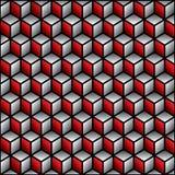 Creative cube design pattern Stock Photo