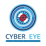 Creative Cyber Eye Logo Stock Photo