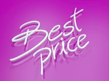 Best price symbol Royalty Free Stock Photography
