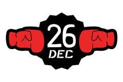 Boxing day symbol. Creative design of Boxing day symbol stock illustration
