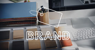 Creative Design Brand Identity Marketing Concept Stock Image