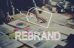 Creative Design Brand Identity Marketing Concept.  Royalty Free Stock Images