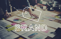 Creative Design Brand Identity Marketing Concept. Creative Design Brand Identity Marketing Royalty Free Stock Photos