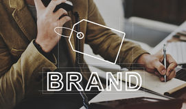 Creative Design Brand Identity Marketing Concept. Business Marketing Brand Identity Concept Royalty Free Stock Photography