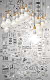 Creative design business Stock Photo