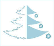 Creative design Christmas tree Stock Photography