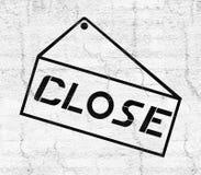 Close card icon. Creative design of close card symbol Stock Photography