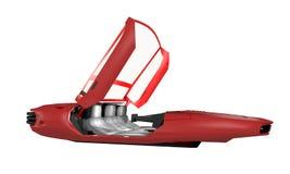 Futuristic vehicle Royalty Free Stock Photography