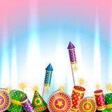 Creative design of diwali stock illustration