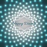 Creative design of diwali vector illustration