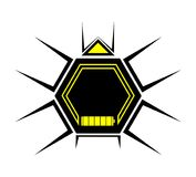 Drone insect icon. Creative design of drone insect icon Royalty Free Stock Photos