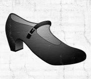 Elegant female shoe. Creative design of elegant female shoe Royalty Free Stock Photography