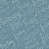 Friday background Royalty Free Stock Photo